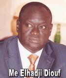 FLASH SUR... Le tonitruant Me Elhadji Diouf