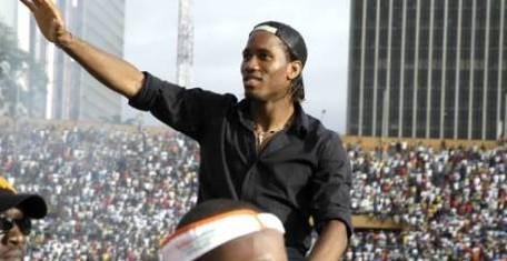 Didier Drogba meilleur joueur Africain et quatrième au Ballon d'or 2007