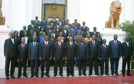 UNE PREMIERE DANS L'HISTOIRE DE NOTRE PAYS: Un bataillon de dix ministres d'Etat dans un gouvernement