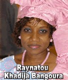 FLASH SUR... Raynatou Khadija Bangoura