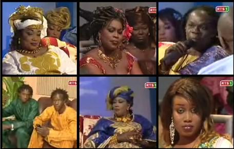 [VIDEO 2EME PARTIE] SPECIAL TABASKI 2007 SUR LA RTS1: Artistes et divas de la musique Sénégalaise