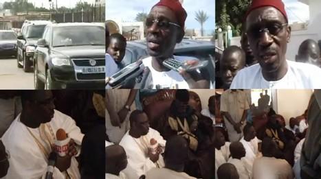 [VIDEO] APRES LE PARDON DE WADE: Macky Sall et Doudou Wade à Touba pour remercier le Khalif