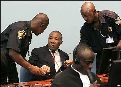 Reprise aujourd'hui du procès de Charles Taylor