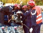 LE COMMISSAIRE ASSANE NDOYE victime d'un accident de voiture