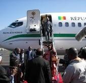 L'avion présidentiel pour transporter les supporters a la CAN 2008