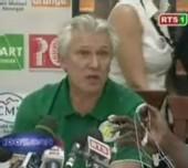 [VIDEO] CONFERENCE DE PRESSE DE KASPERCZAK APRES SA DEMISSION « je pars sans regrets.. je suis un gagneur»