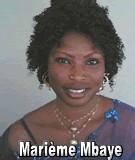 FLASH SUR... Marième Mbaye