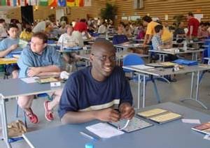 PREPARATION DES 37e CHAMPIONNATS DU MONDE DE SCRABBLE: L'équipe sénégalaise à Cannes