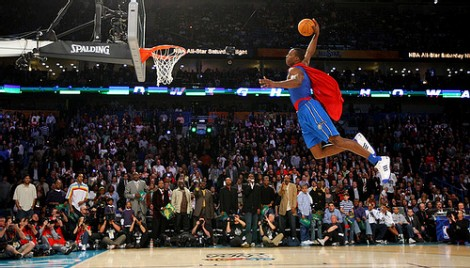 [ VIDEO ] NBA ALL STAR 2008: Dwight Howard  remporte le concour Dunk