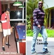TITI CAMARA AMI INTIME DE EL HADJ DIOUF «Je n'ai aucun pouvoir de décision sur les agissements de Diouf»