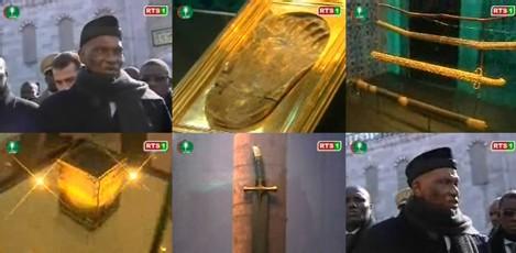 [ VIDEO ] WADE VISITE LA MOSQUÉE BLEUE D'ISTANBUL: Lieu où sont exposées des affaires du Prophète (PSL)