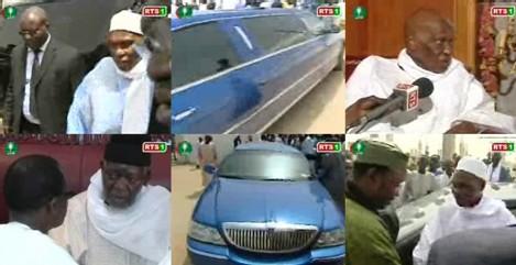 [ VIDEO ] EN VISITE A TOUBA : Le chef de l'etat offre une Limousine au Khalife