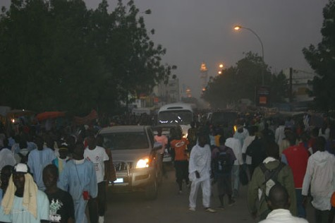 [ PHOTOS ] Touba à plein à la veille du Grand Magal de Touba 2008