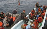 Trois gendarmes espagnols devant la justice pour avoir noyé un clandestin sénégalais