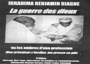PARUTION DE LIVRE: Benjamin Diagne arbitre « La guerre des dieux… »