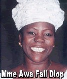 FLASH SUR... Mme Awa Fall Diop