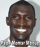 FLASH SUR... Pape Momar Mboup