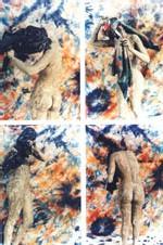 Expo - Lutte et femme terre : Dago combine couleurs et formes
