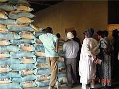 Distribution de vivres de soudure: Des bénéficiaires attendent toujours