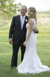 George Bush marie sa fille à un ancien patron du Parti Républicain
