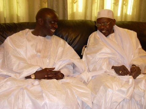 [ VIDEO ] EN VISITE A TIVAOUANE: Idrissa Seck recu par Junior (Photos)