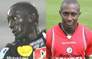 SENEGAL-ALGERIE-FOOTBALL: Mbaye Lèye et Mody Traoré appelés en renfort