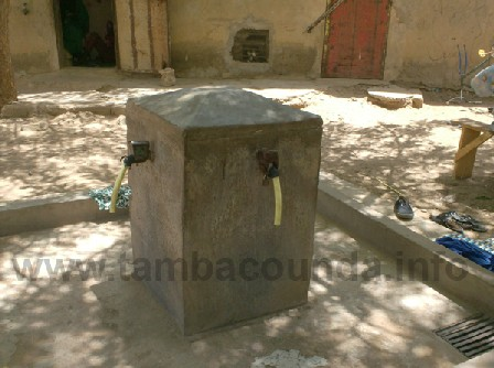 Depuis deux mois l'eau ne coule plus à flot à Diawara