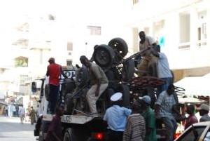 Sandaga : les pousse-pousse traqués par la police