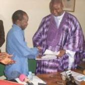 PASSATION DE SERVICE: Mbaye Ndoye laisse 245 millions à Diagna Ndiaye avec beaucoup de regrets