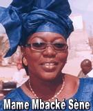 FLASH SUR... Mame Mbacké Sène