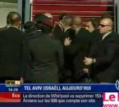 [ VIDEO ] COUP DE FEU A L'AEROPORT: La visite de Nicolas Sarkozy en Israël se termine dans la panique