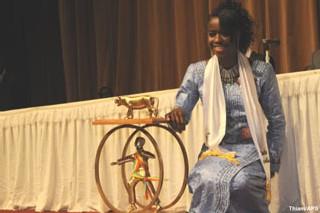 Binta Diedhiou : ''le Lion d'or me pousse à aller de l'avant''