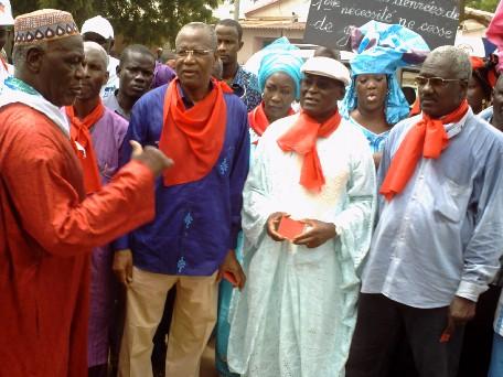 Marche de Siggil Senegaal à Tamba: Abdoulaye Bathily dénonce le bradage des ressources naturelles de la zone orientale