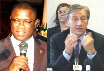 Point de presse conjoint d'Abdoulaye Baldé et de Jean-Christophe Rufin