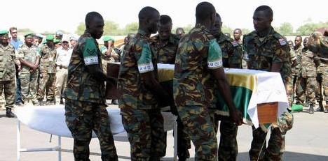 ATTAQUE MEURTRIERE D'UN CONVOI DE CASQUES BLEUS: Deux gradés de la Police sénégalaise parmi les blessés