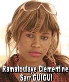 FLASH SUR... Ramatoulaye Clémentine Sarr GUIGUI