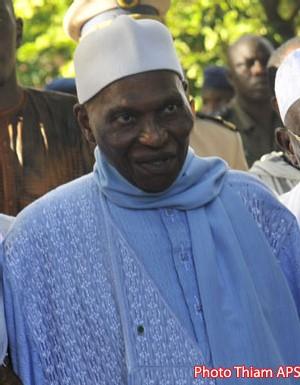 ABDOULAYE WADE : ''Je suis disposé à recevoir et à appliquer les réflexions les meilleures pour le Sénégal''