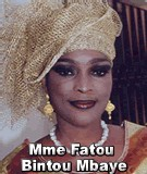 FLASH SUR... Mme Fatou Bintou Mbaye