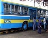 Des inconnus saccagent un bus sur l'avenue Lamine Guèye