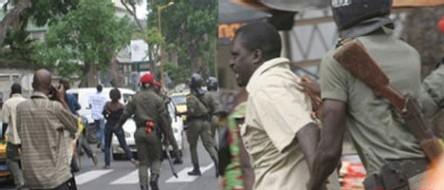 LA POLICE TIRE sur la polulation et fait onze blessés dont quatre graves