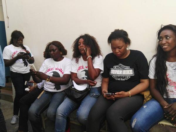 """Voici les """"femmes de Khalifa Sall"""" arrêtées puis libérées sur ordre du Procureur !"""