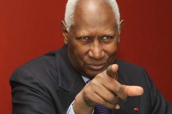 Abdou Diouf en colère…