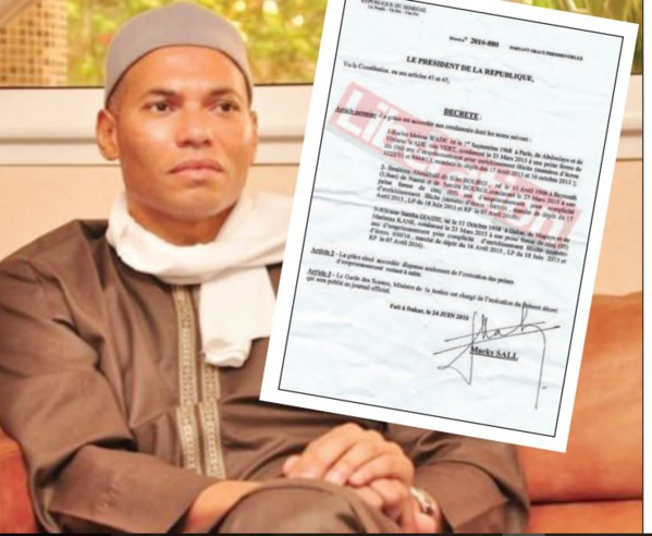 EXCLUSIF - Comment Karim Wade a été gracié par Macky Sall, les révélations du décret présidentiel