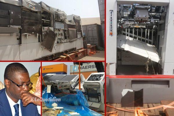 Endommagement de sa machine au Port : You gagne 840 millions