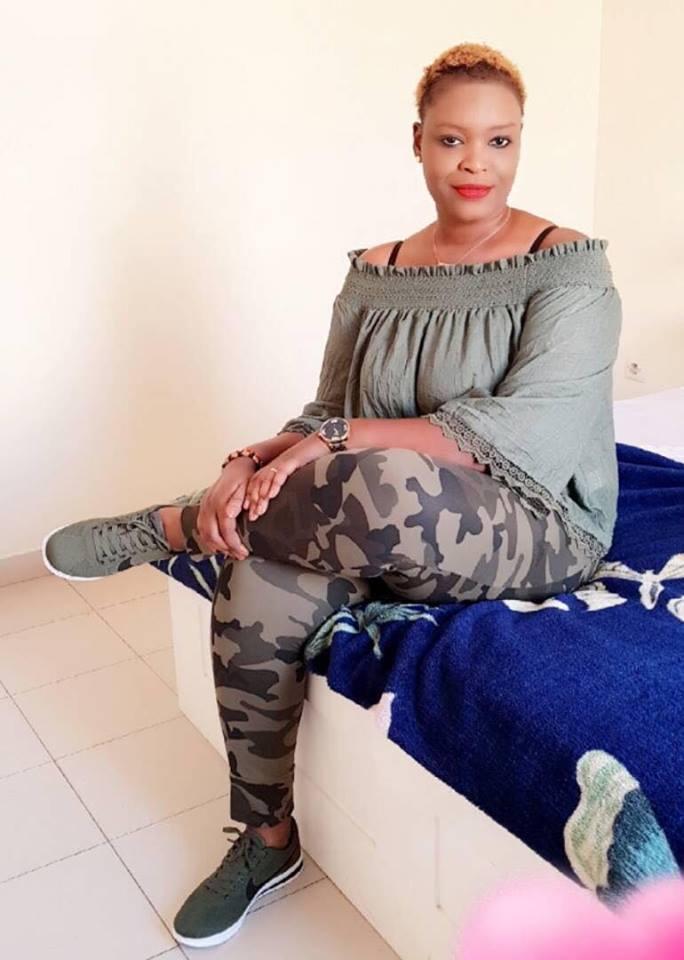 La charmante Aicha Kébé L'ex de Mamadou Massaly en mode relaxe…