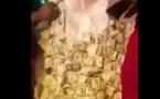 VIDEO - Atlanta. Waly décoré d'un grand boubou orné de dollars. Regardez !