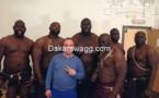 """Quand Kanye West fait appel à des """"lutteurs sénégalais"""" pour un clip"""