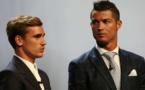 Avant de retrouver Antoine Griezmann lors de la cérémonie du Ballon d'Or et des Fifa Awards, c'est sur le terrain que Cristiano Ronaldo a damé le pion à l'attaquant de l'Atlético, en survolant le derby de Madrid en inscrivant un triplé (0-3), samedi