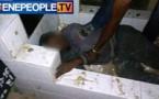 PHOTOS EXCLUSIVE -  Djibril Seydi, le profanateur de tombe des cimetières de Pikine, arrêté en flagrant delit