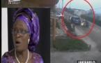 VIDEO - Madame Fall attaquée par six hommes armés de coupe coupe en scooter. Son gardien fuit